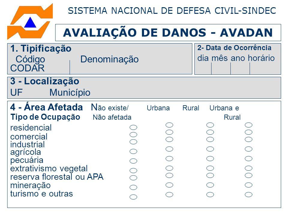 AVALIAÇÃO DE DANOS - AVADAN