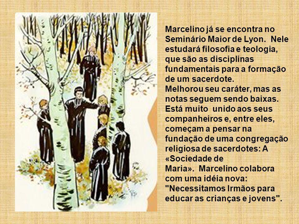 Marcelino já se encontra no Seminário Maior de Lyon