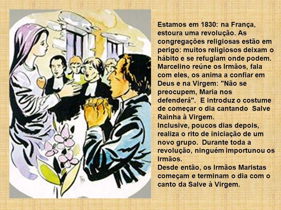 Estamos em 1830: na França, estoura uma revolução