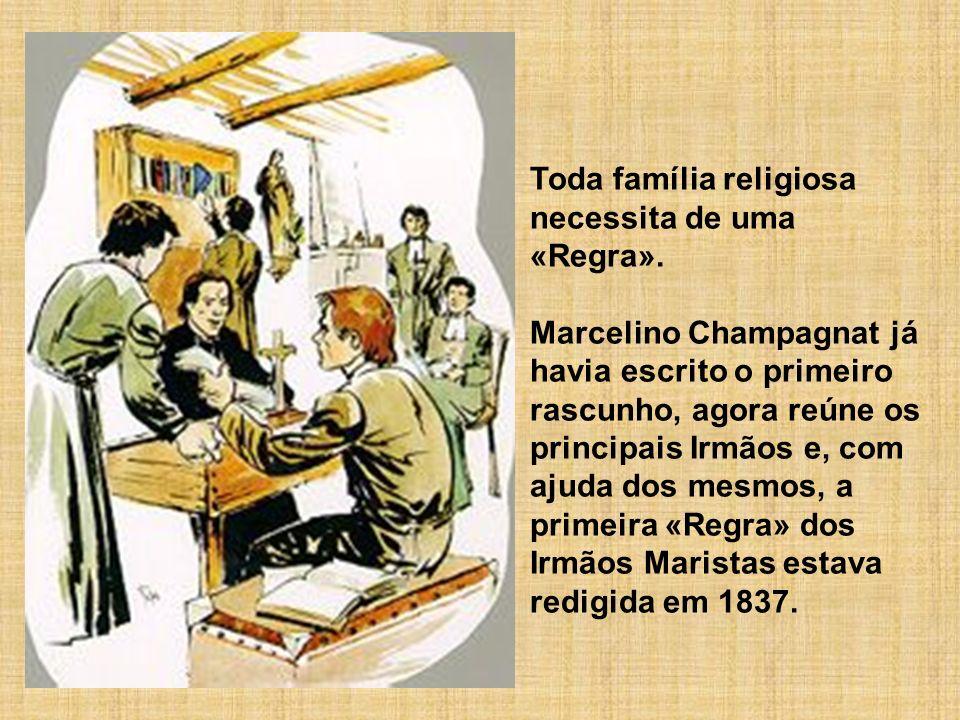 Toda família religiosa necessita de uma «Regra».