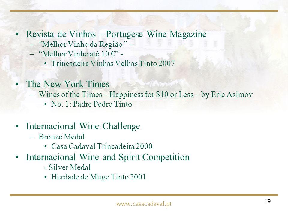 Revista de Vinhos – Portugese Wine Magazine