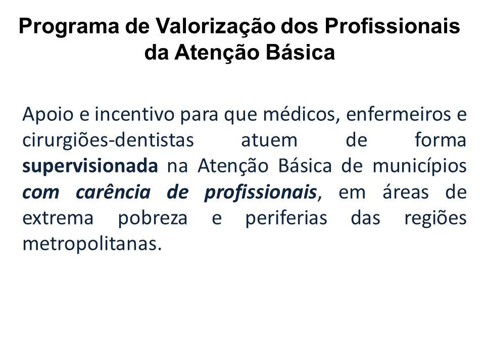 Programa de Valorização dos Profissionais da Atenção Básica