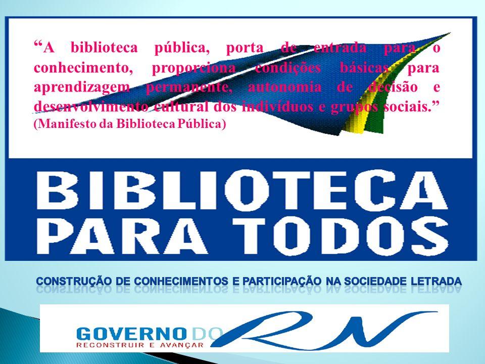 Construção DE CONHECIMENTOS E PARTICIPAÇÃO NA SOCIEDADE LETRADA