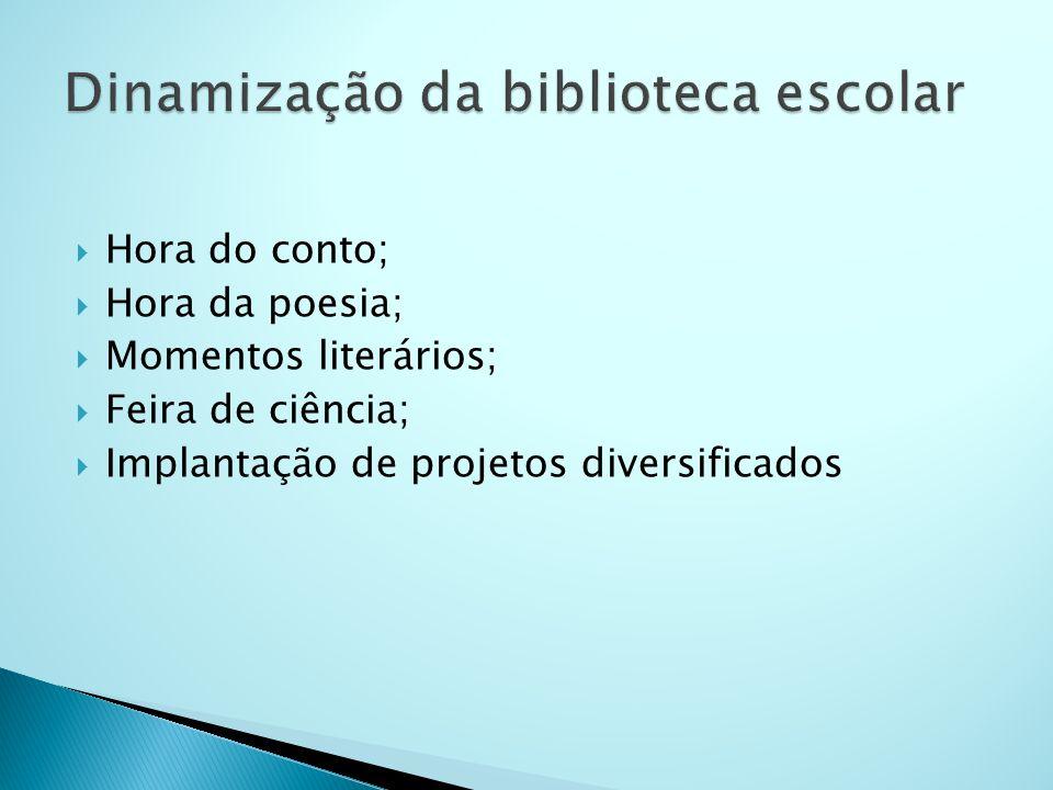Dinamização da biblioteca escolar