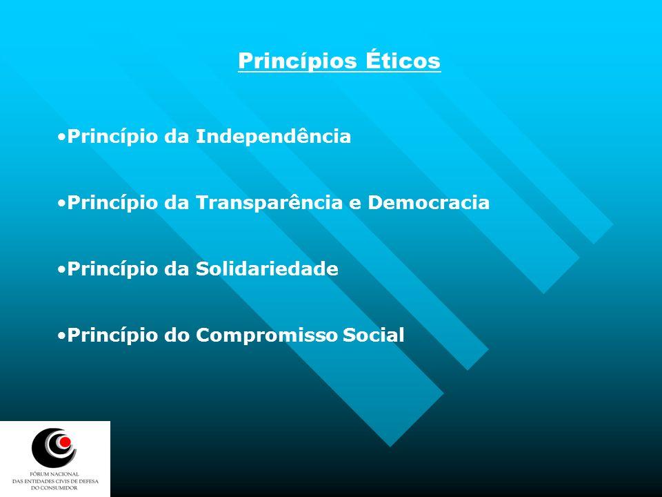 Princípios Éticos Princípio da Independência