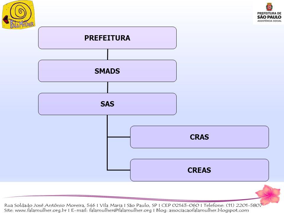 PREFEITURA SMADS SAS CRAS CREAS