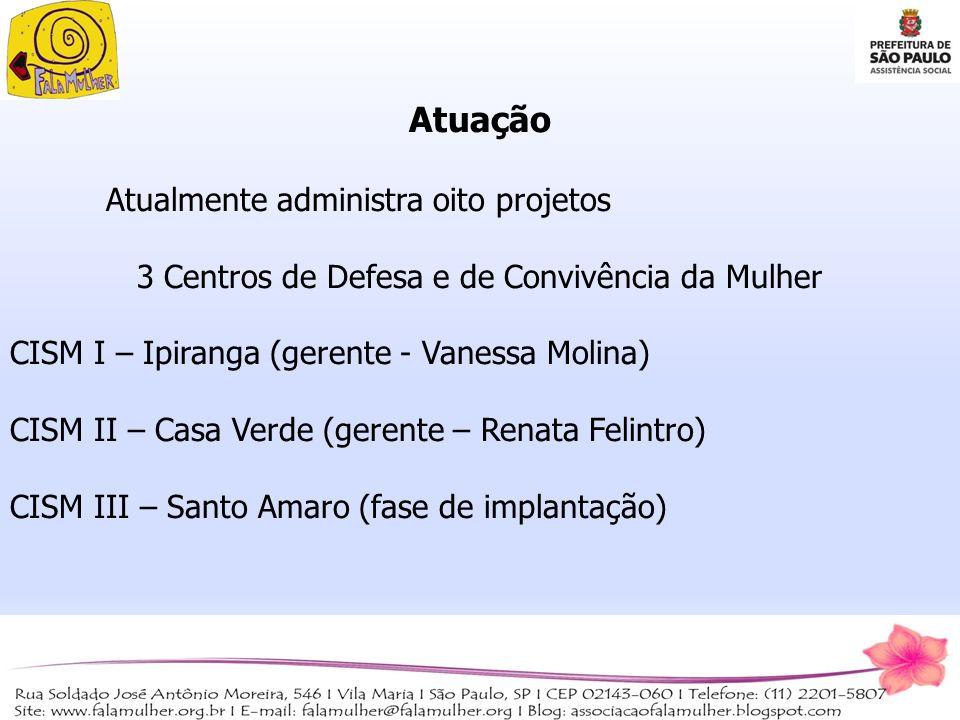 3 Centros de Defesa e de Convivência da Mulher