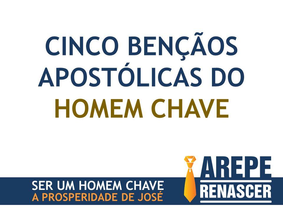 CINCO BENÇÃOS APOSTÓLICAS DO HOMEM CHAVE