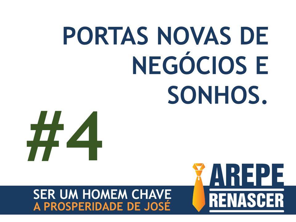 #4 PORTAS NOVAS DE NEGÓCIOS E SONHOS. SER UM HOMEM CHAVE