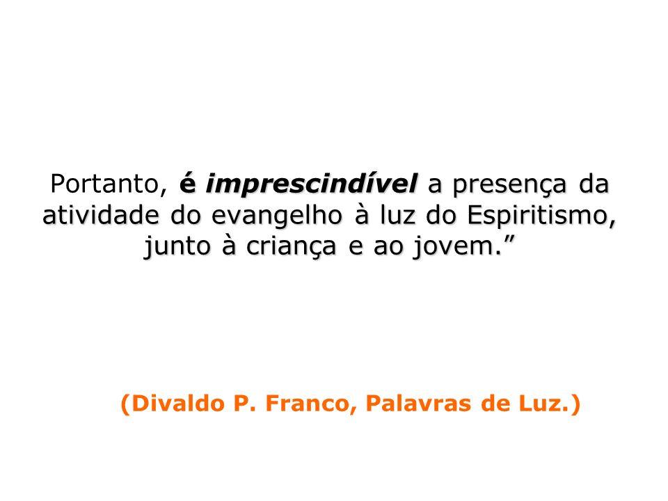 (Divaldo P. Franco, Palavras de Luz.)