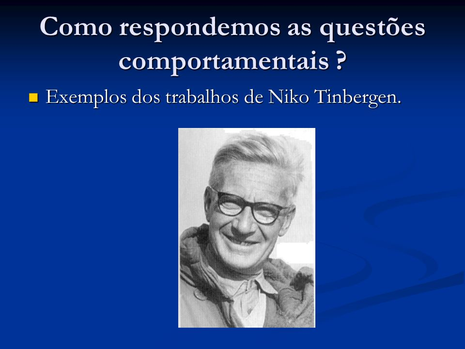 Como respondemos as questões comportamentais