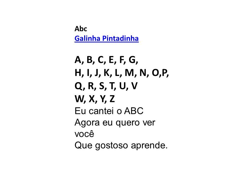 Abc Galinha Pintadinha.