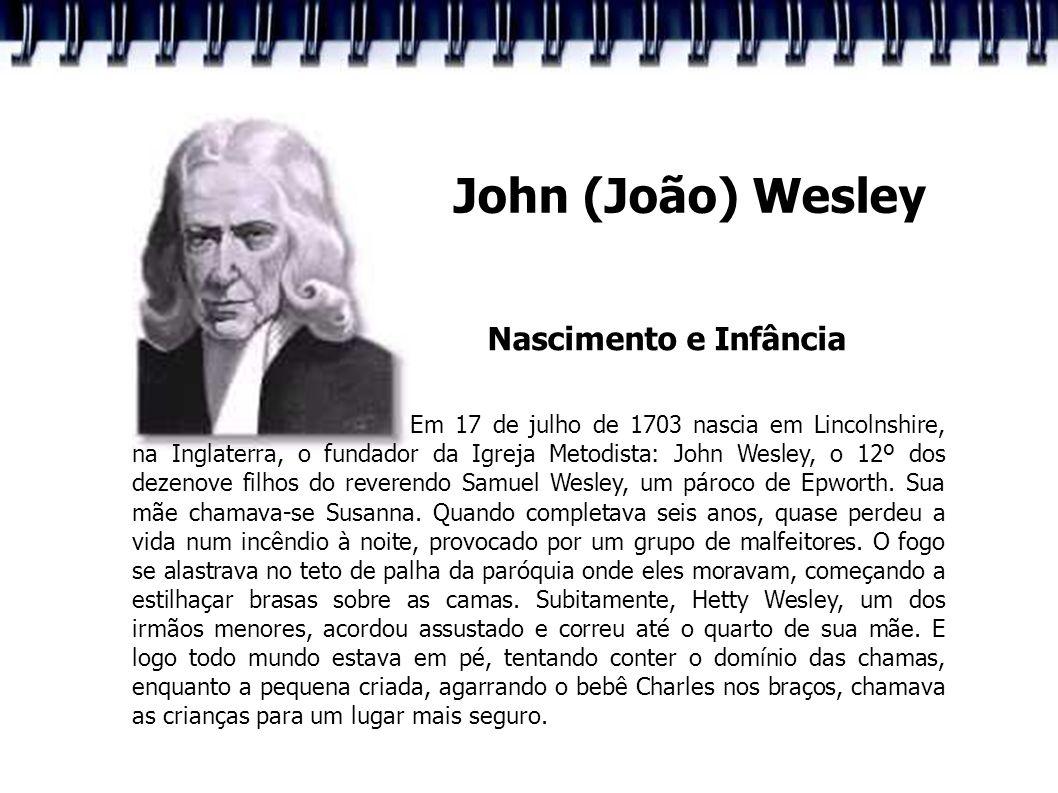 John (João) Wesley Nascimento e Infância