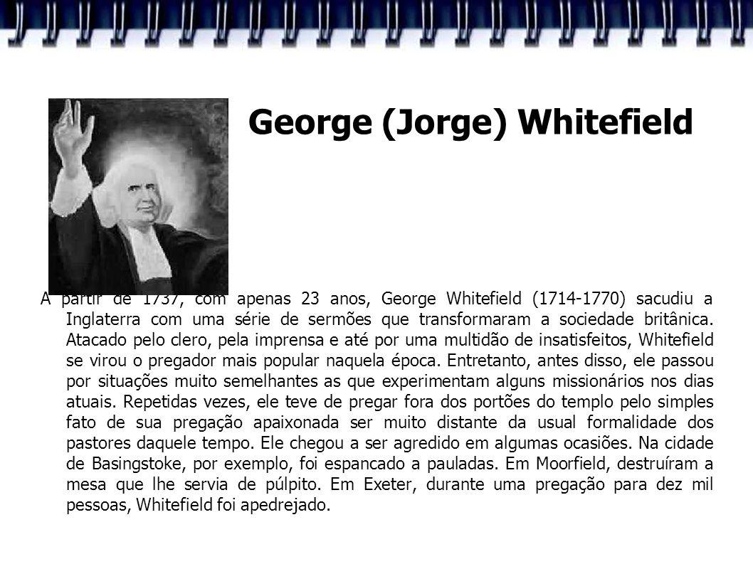 George (Jorge) Whitefield
