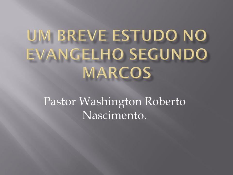 Um Breve Estudo No Evangelho Segundo Marcos