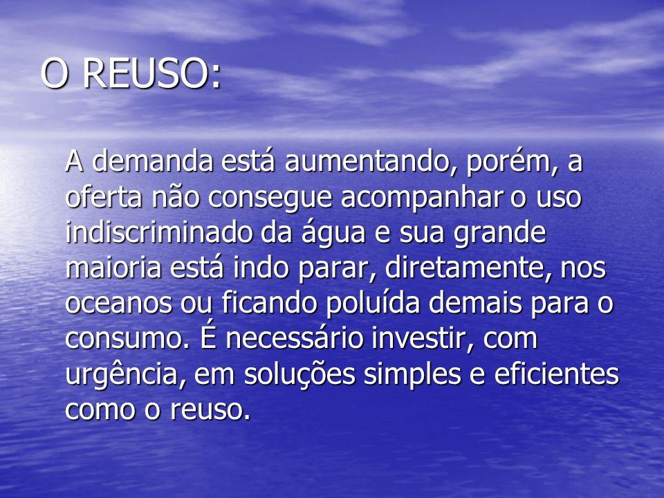O REUSO: