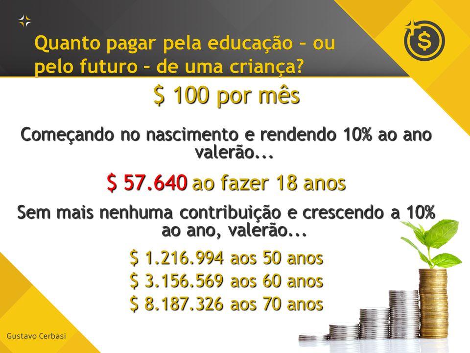 Quanto pagar pela educação – ou pelo futuro – de uma criança