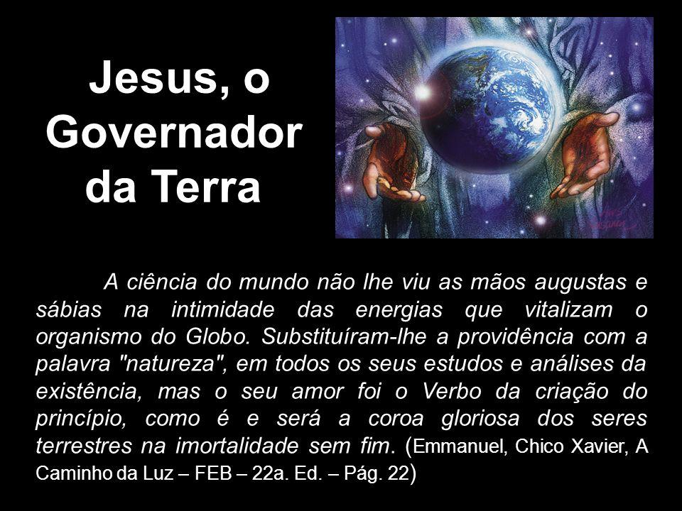 \Jesus, o Governador da Terra