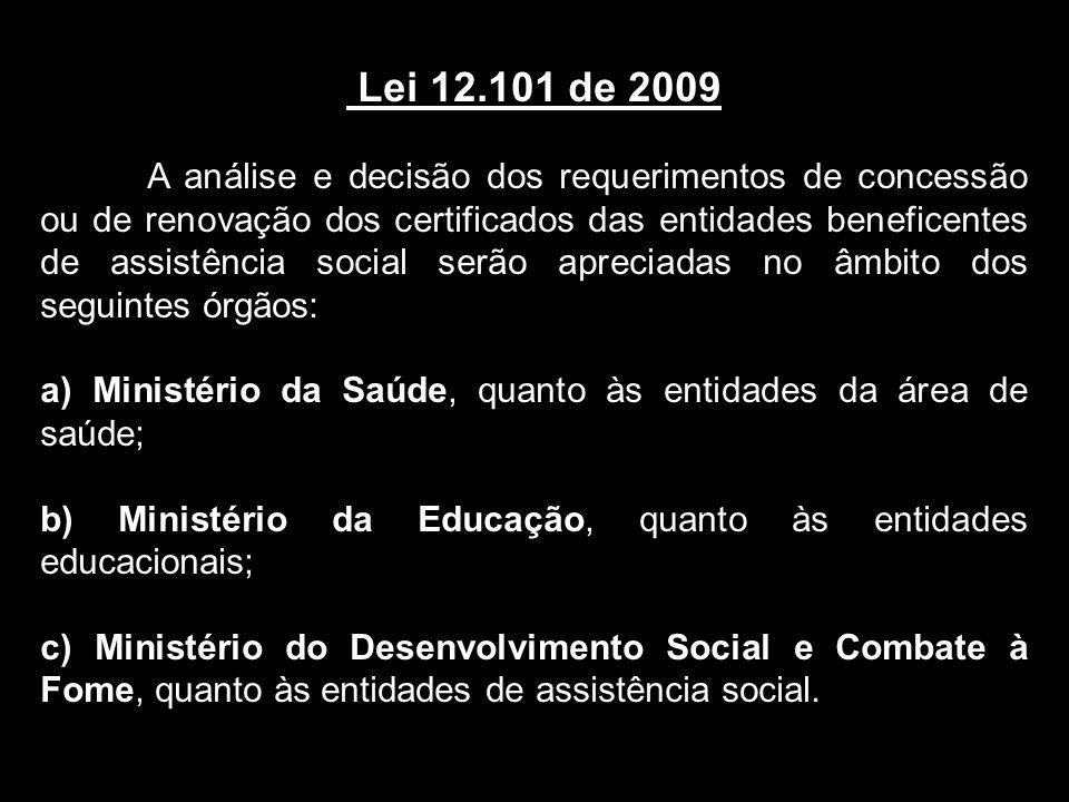 Lei 12.101 de 2009