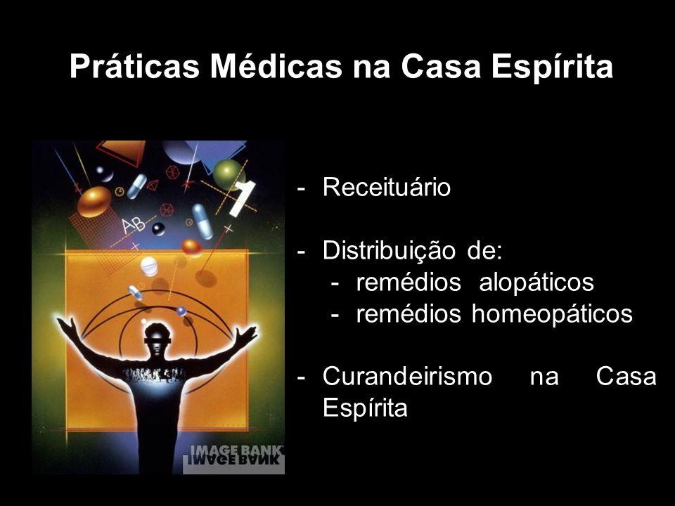 Práticas Médicas na Casa Espírita