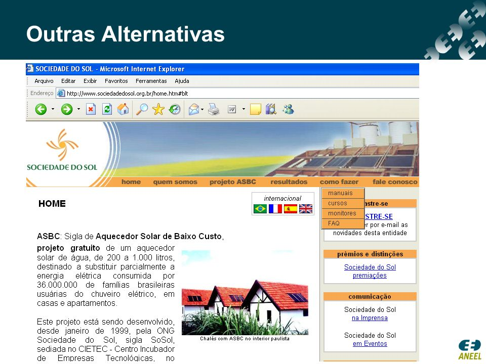 Outras Alternativas