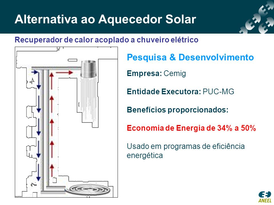 Alternativa ao Aquecedor Solar