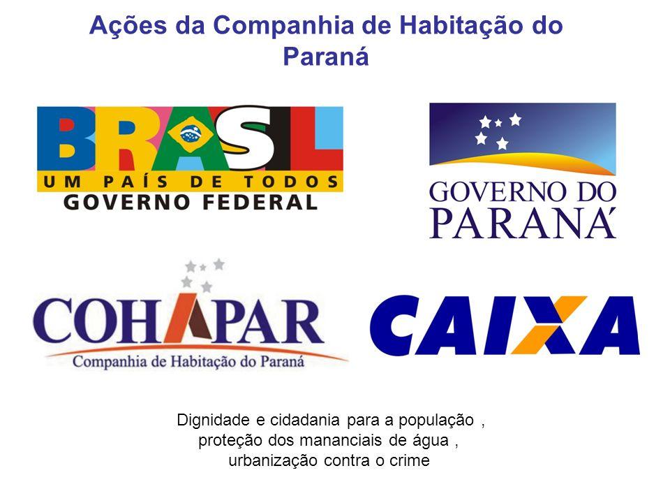 Ações da Companhia de Habitação do Paraná