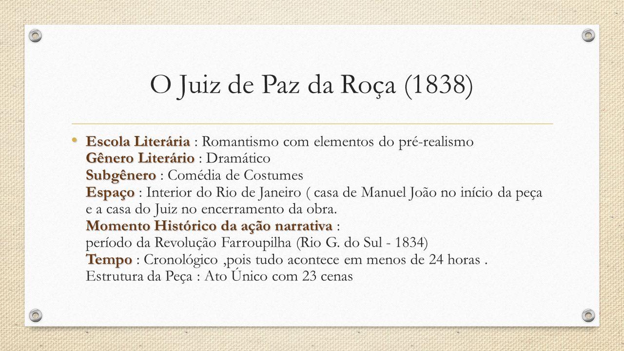 O Juiz de Paz da Roça (1838)