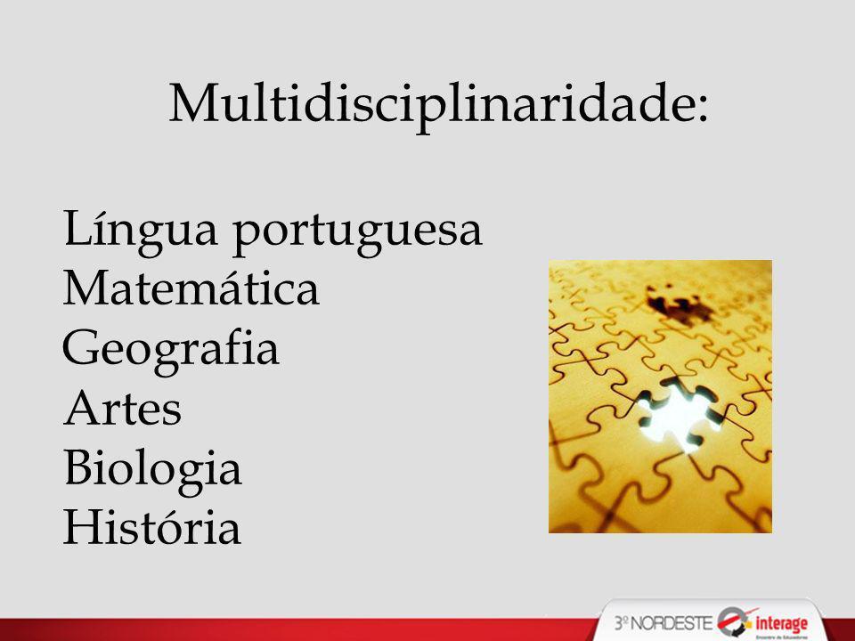 Multidisciplinaridade: