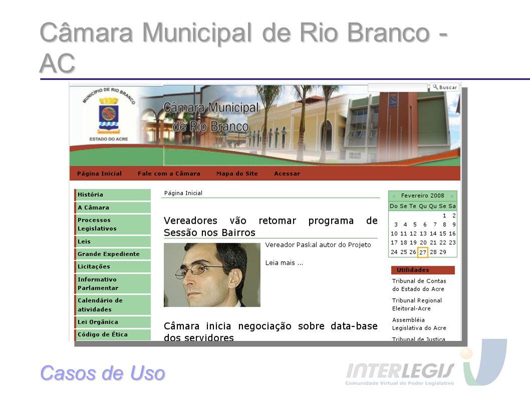 Câmara Municipal de Rio Branco - AC