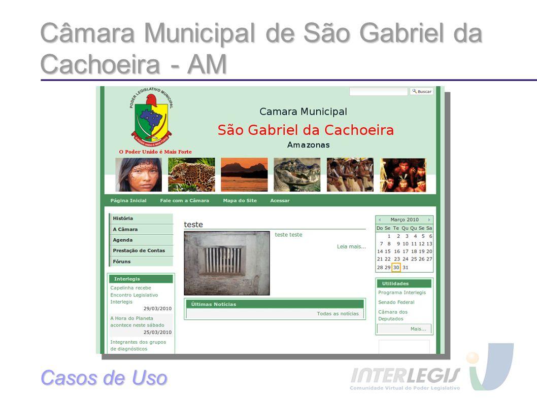 Câmara Municipal de São Gabriel da Cachoeira - AM