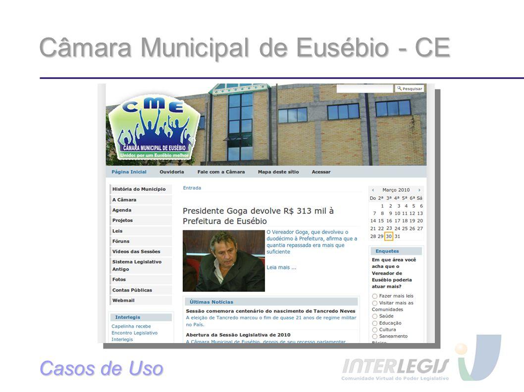 Câmara Municipal de Eusébio - CE