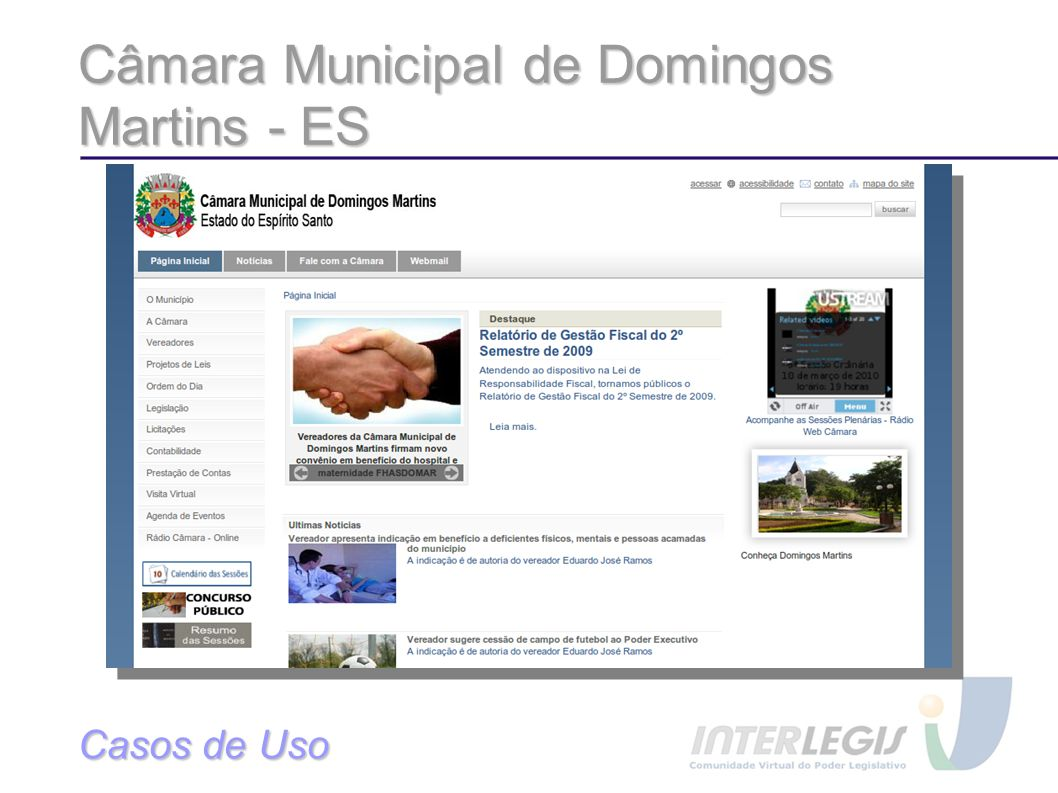 Câmara Municipal de Domingos Martins - ES