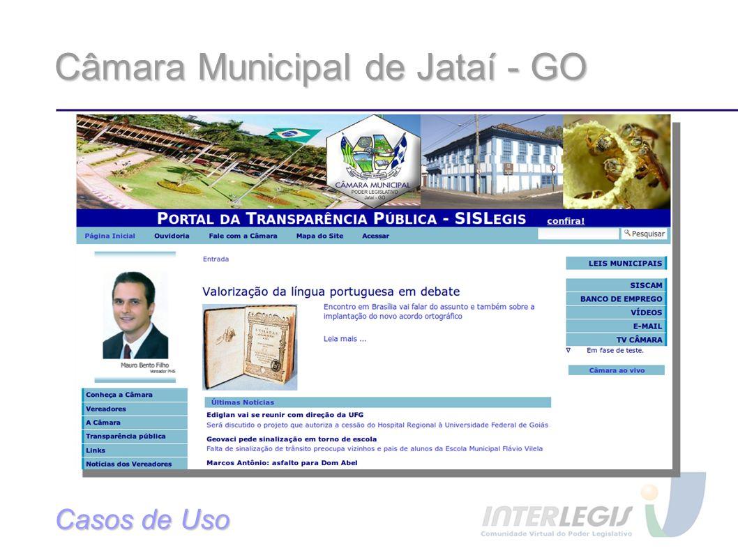 Câmara Municipal de Jataí - GO