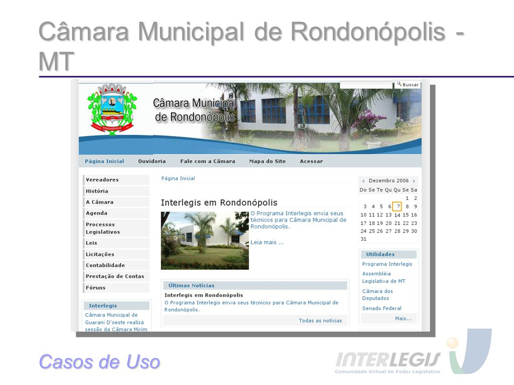 Câmara Municipal de Rondonópolis - MT