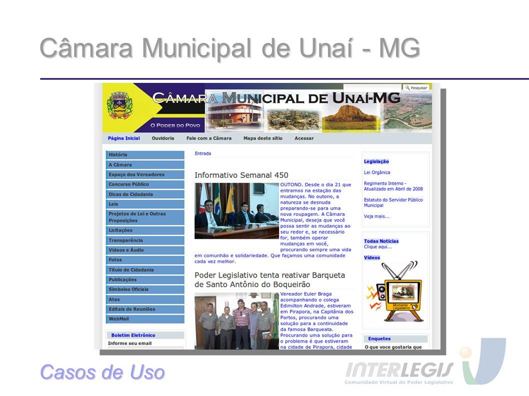 Câmara Municipal de Unaí - MG