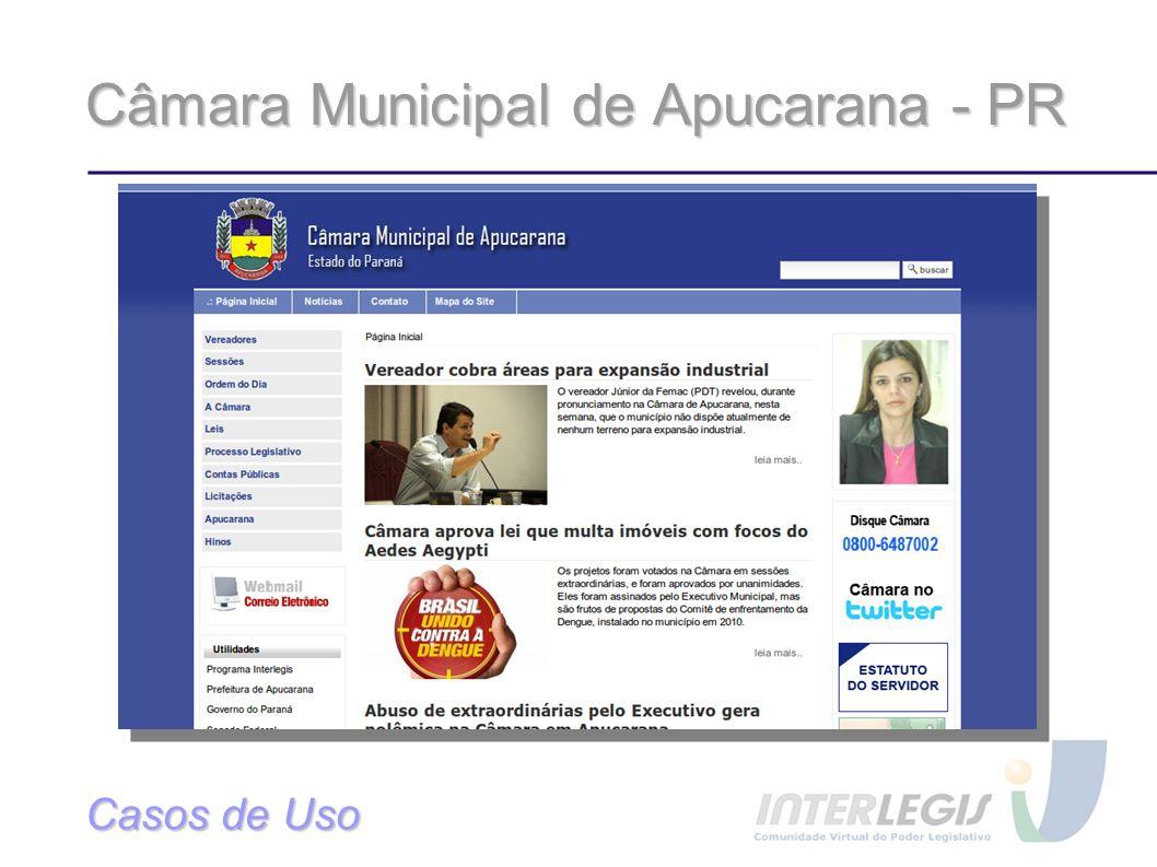 Câmara Municipal de Apucarana - PR
