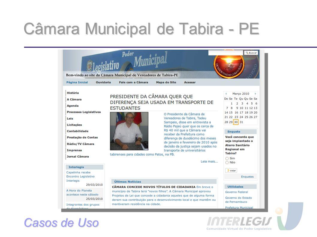 Câmara Municipal de Tabira - PE