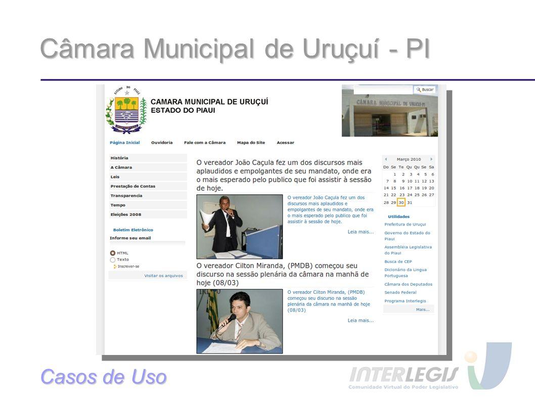Câmara Municipal de Uruçuí - PI