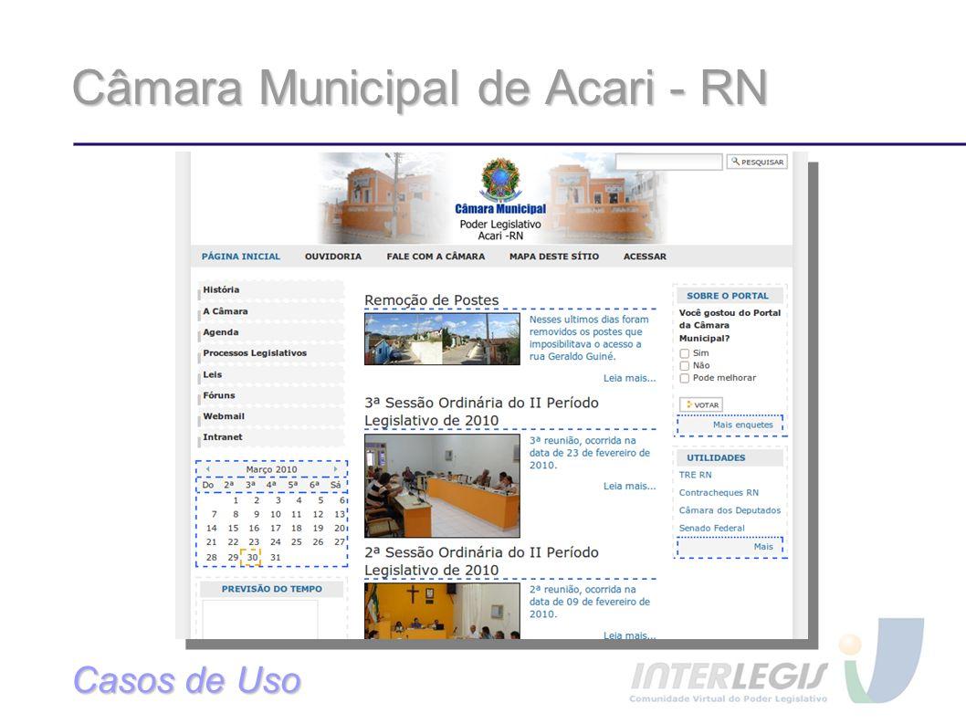 Câmara Municipal de Acari - RN
