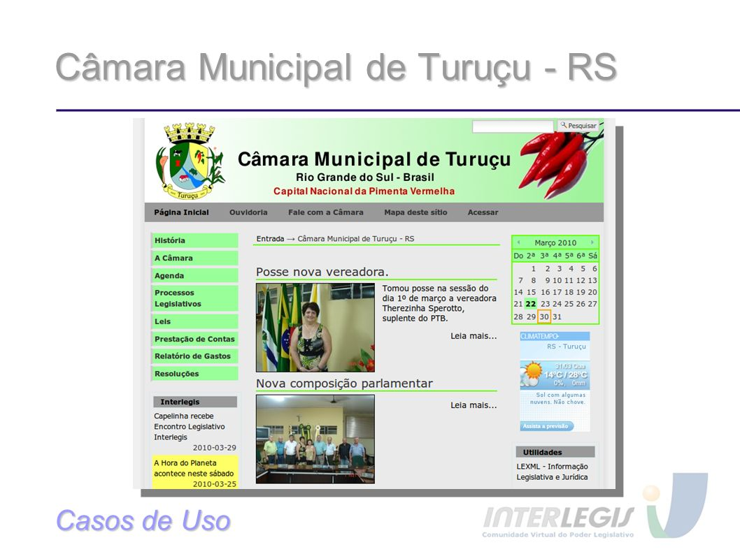 Câmara Municipal de Turuçu - RS