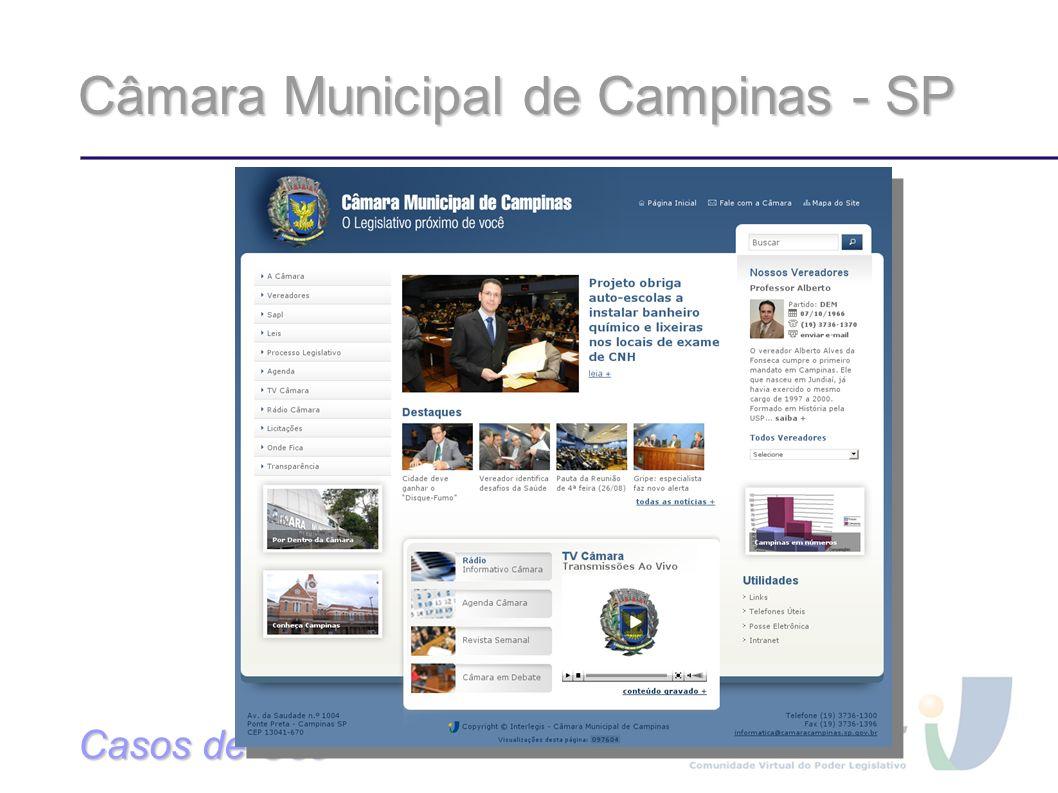 Câmara Municipal de Campinas - SP