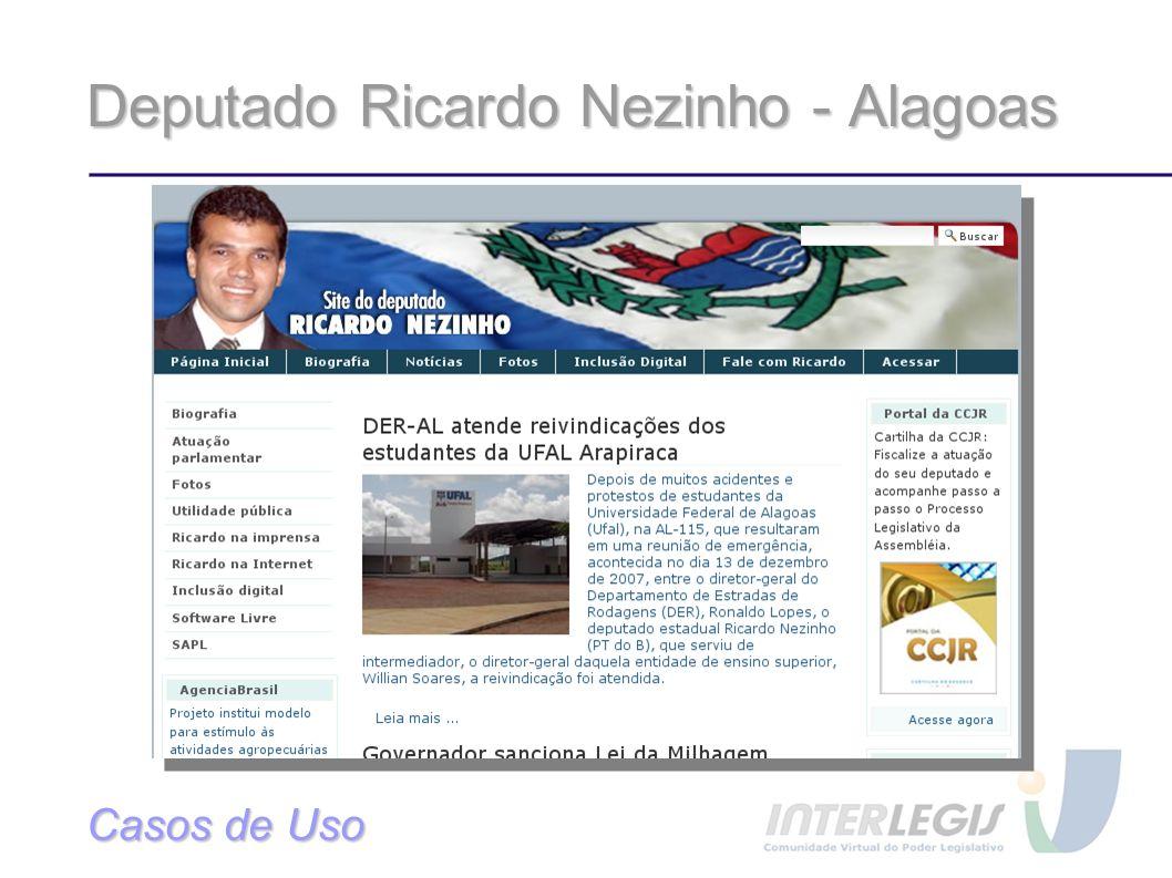 Deputado Ricardo Nezinho - Alagoas