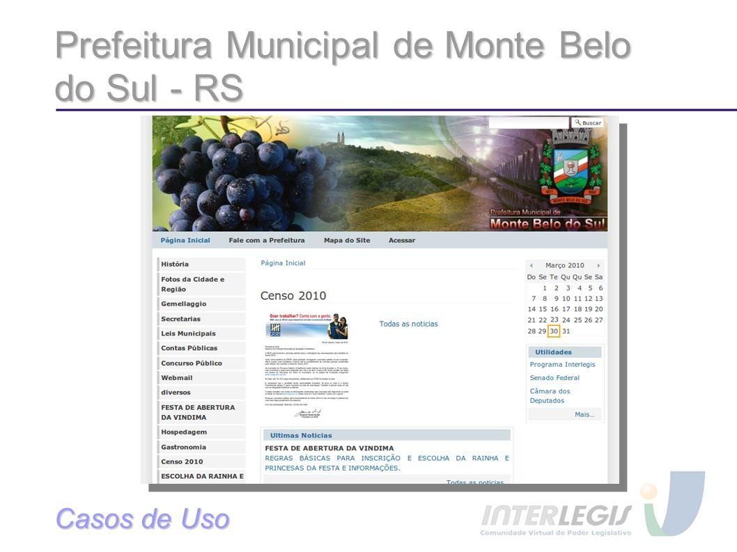 Prefeitura Municipal de Monte Belo do Sul - RS