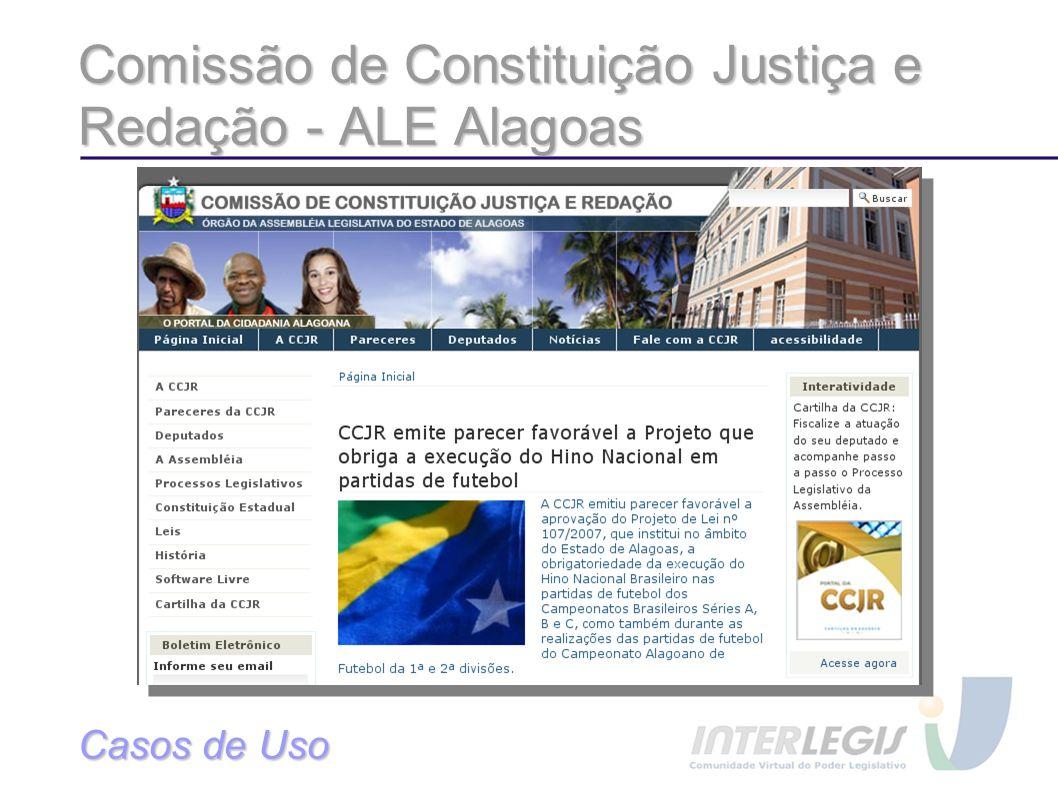 Comissão de Constituição Justiça e Redação - ALE Alagoas