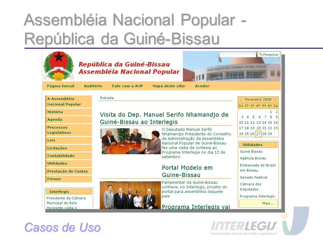 Assembléia Nacional Popular - República da Guiné-Bissau