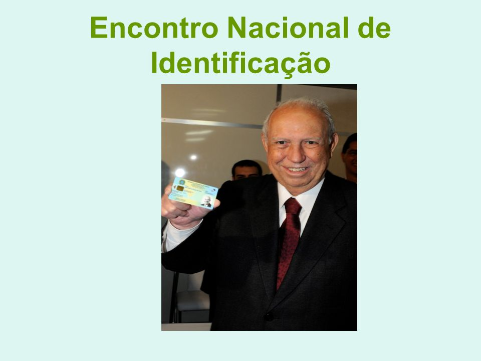 Encontro Nacional de Identificação