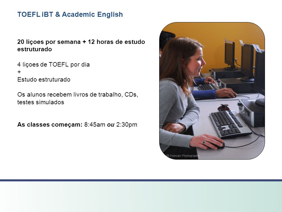 TOEFL iBT & Academic English