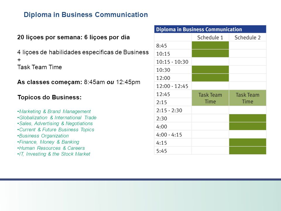 Diploma in Business Communication