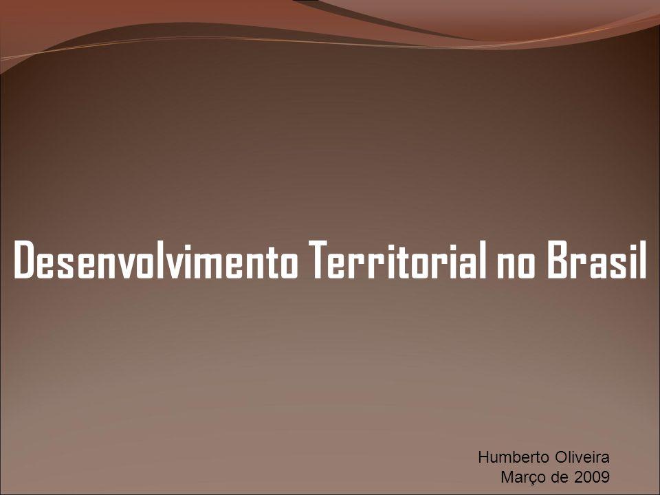 Desenvolvimento Territorial no Brasil